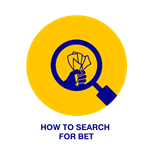 How to search for bets on BetKing